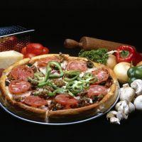 Copycat Giordano's Deep Dish Pizza