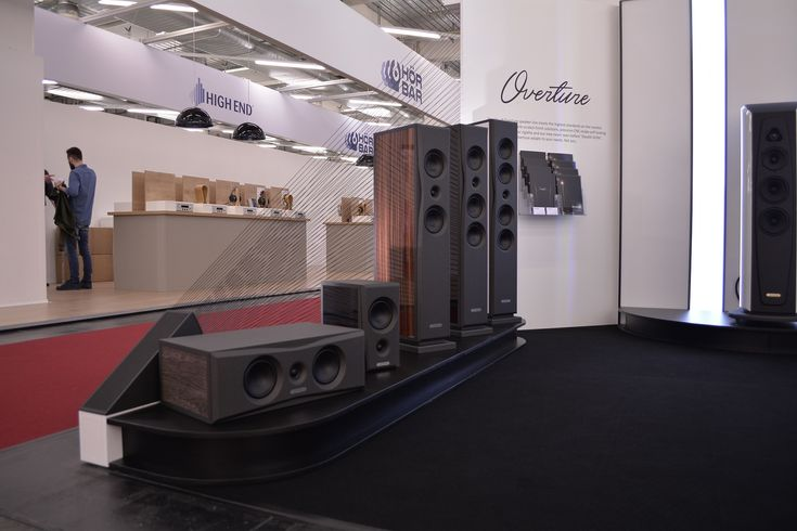 Overture lineup in Munich High End show 2016 at AudioSolutions stand.