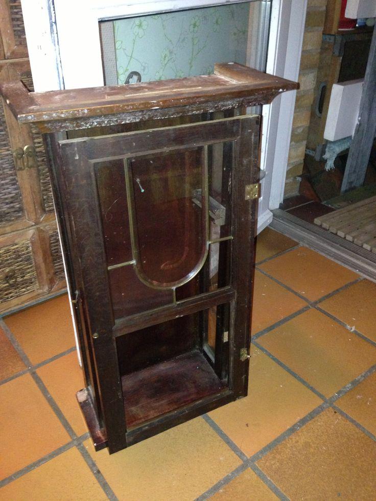 Old Clock Case Redo Repurpose Furniture Decopage
