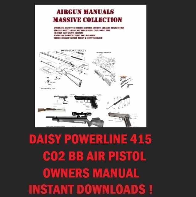 daisy powerline 415 repair manual