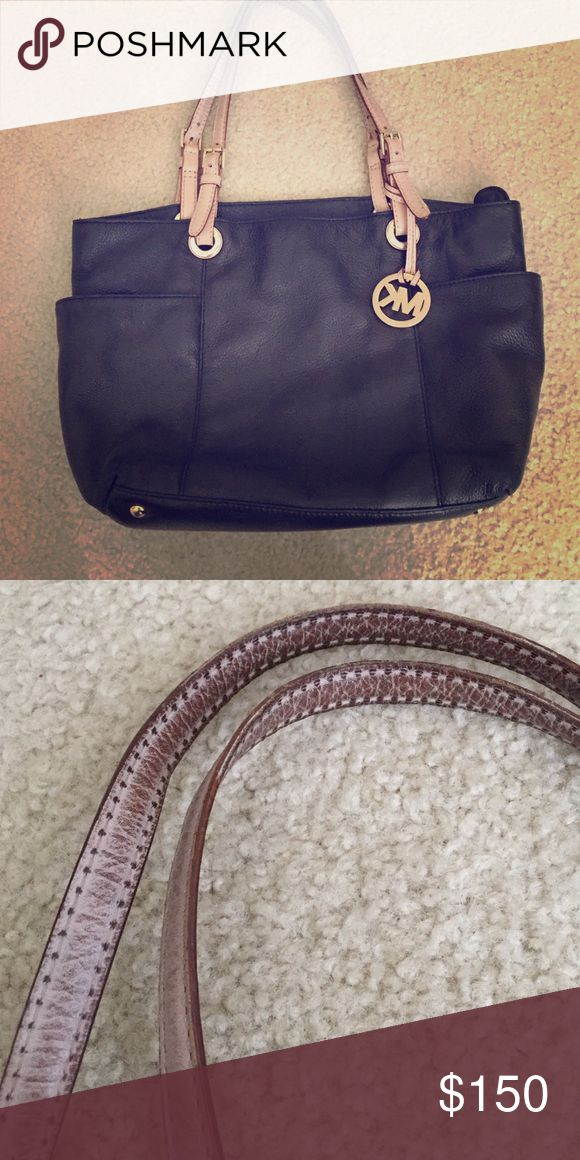 Michael Kors Black Handbad Previously loved Michael Kors black handbag. Normal wear on the strap but still has a lot of love left to give! Michael Kors Other