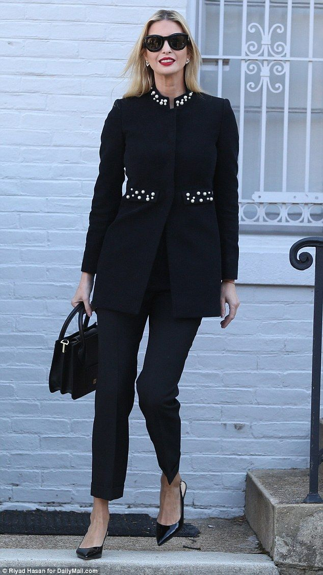 01d2da1bf8 Beloved brand: Ivanka Trump headed to work on Thursday morning wearing a  coat from Zara