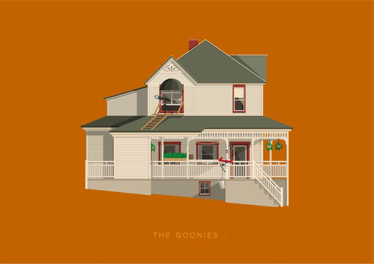 Frederico Birchal, The Goonies, Famous Movies & TV Shows Setting, 2015