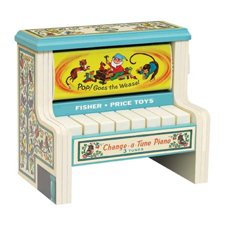 For Finn, Fisher Price Change a Tune Piano by Schylling - $29.99