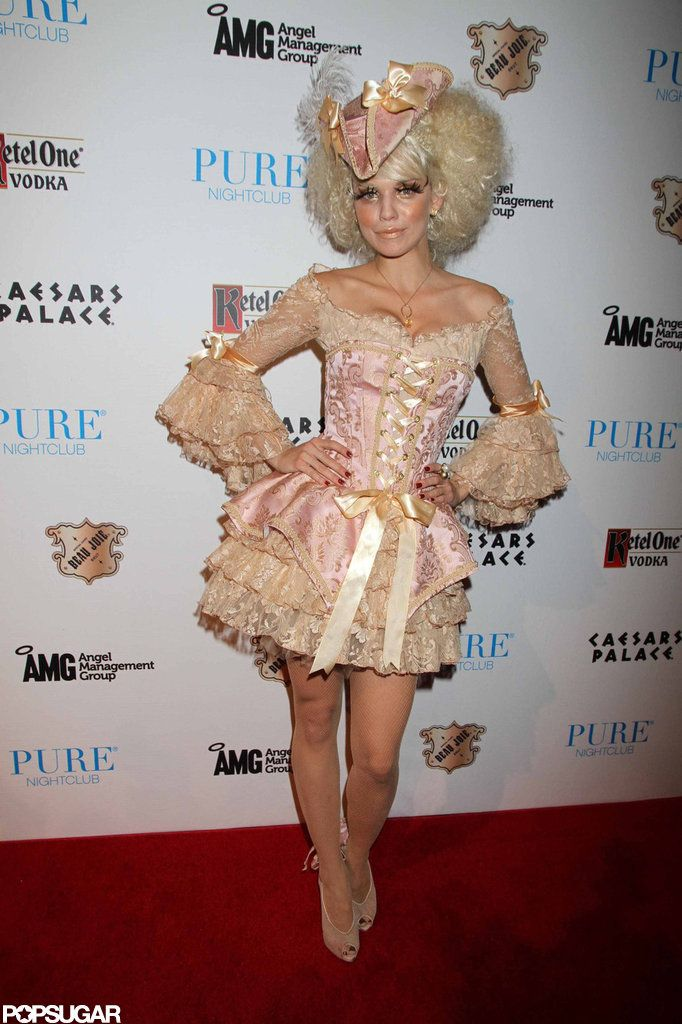 Sexy Celebrity Halloween Costumes   Pictures   POPSUGAR  Celebrity AnnaLynne McCord dressed as Marie Antoinette while hosting a 2011 Halloween party in Las Vegas