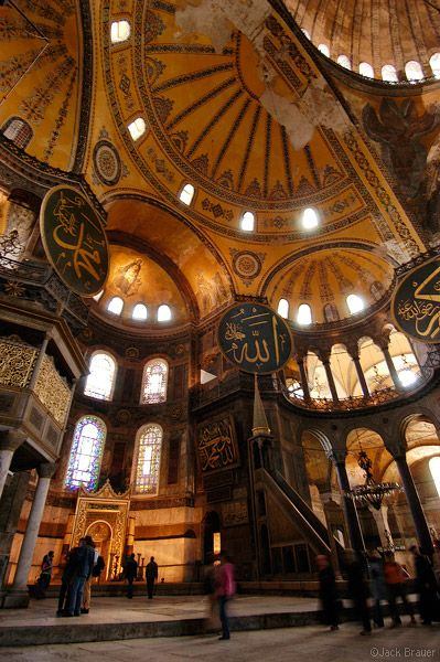 Cúpula Aya Sofia, Istanbul