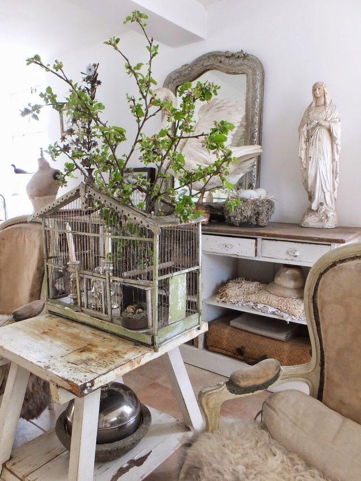die besten 17 ideen zu vogelk fig deko auf pinterest k fig k che deko antik und franz sische. Black Bedroom Furniture Sets. Home Design Ideas