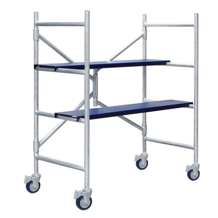 Xtend and Climb IMAC 4 Foot Portable Scaffolding Ladder Scaffold Portable
