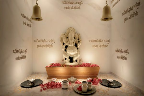 14 Awesome granite designs for pooja room images