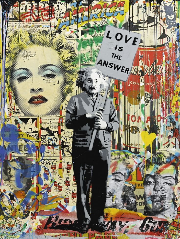 Pin by jane runaway on Art Brainwashing, Mr brainwash