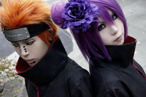 Rate the Cosplay5 ☆☆☆☆☆ | 4 ☆☆☆☆ | 3 ☆☆☆ | 2 ☆☆ | 1 ☆pain and konan Cosplay