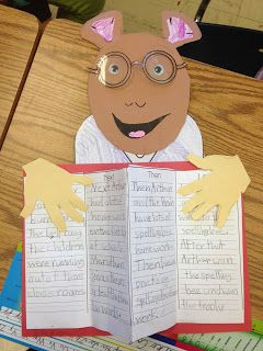 Craftivity F.U.N. with Marc Brown's Arthur character :)