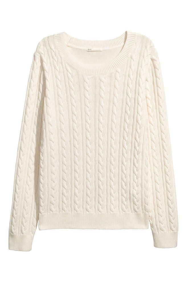 cb9cd41c6 Cable-knit Sweater in 2019   Fashion   Cable knit sweaters, Cable ...