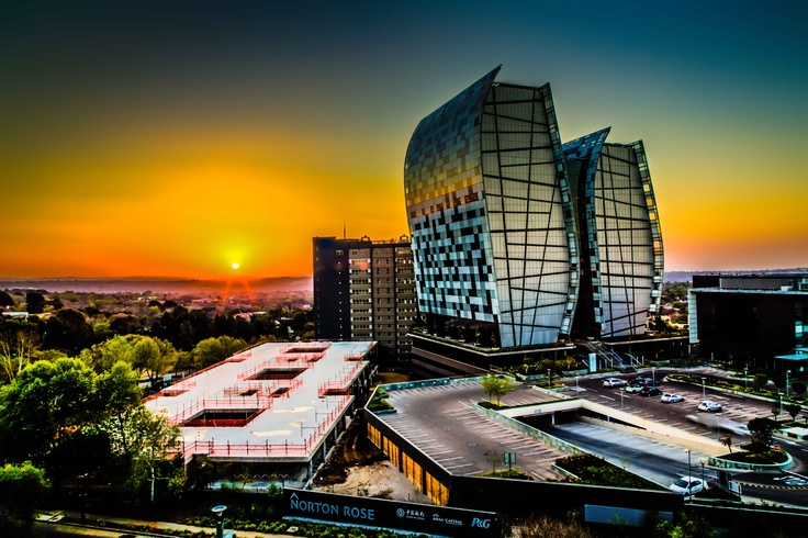 View from Sandton City