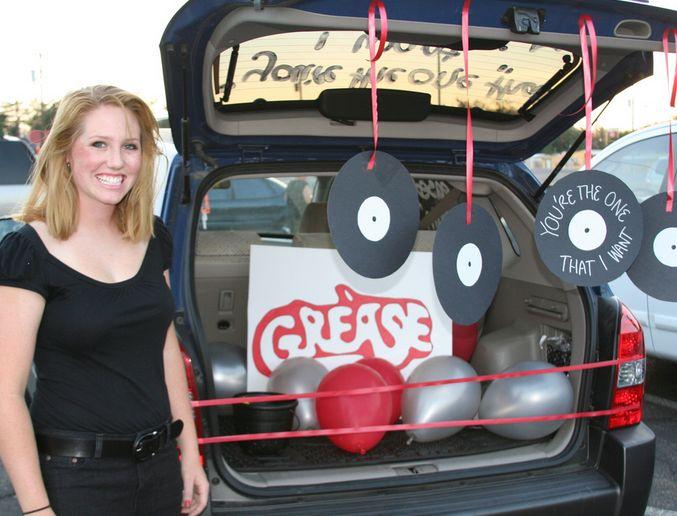 Grease Lightning trunk for halloween