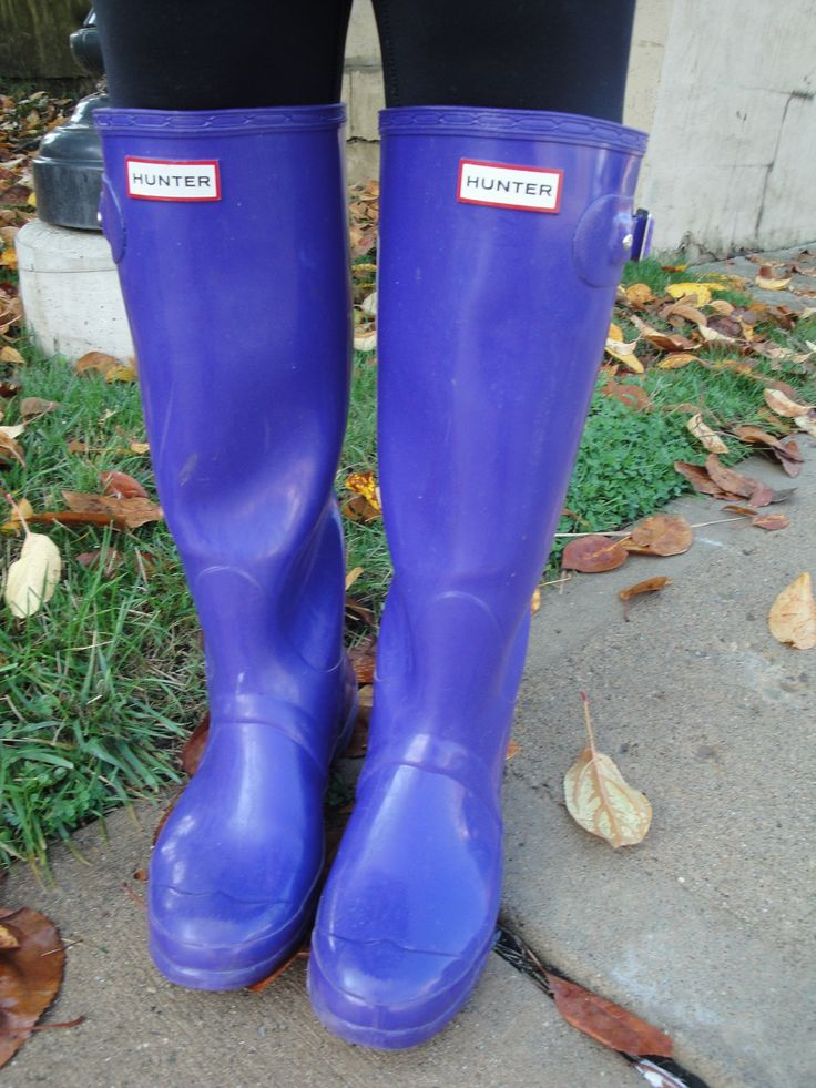 how to make hunter boots more snug