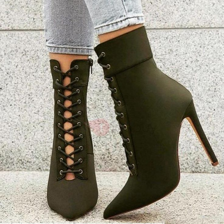 Buy Women's High Heel Boots Online with fashion design? Shoespie offers  Cheap High heels leather Boots for Women and high heel ankle boots with  lace, ...