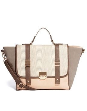 New Look Carly Wing Satchel Bag