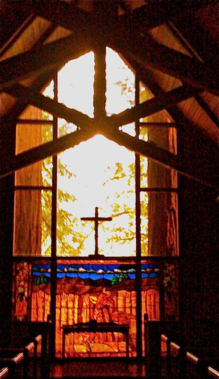 Chapel, Mt. Hermon Ca. in the Redwoods   Photo by Judith Arbaugh-Me