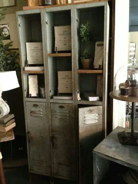 Eye For Design: Decorating With Vintage Lockers