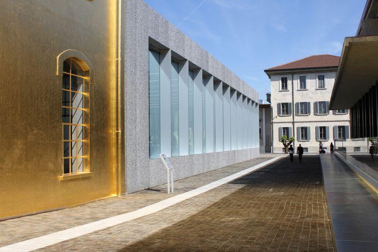 Rem Koolhaas hat für die Fondazione Prada eine Destillerie im Mailänder Süden umgebaut. AD über die entstandene Kollage aus Material und Architektur.