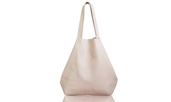 066a978497109 Beżowa skórzana torba worek na ramię w k rozmiarze maxi. Torebka handmade, ręcznie  wykonana w
