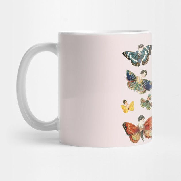 LADY BUTTERFLIES! Mug