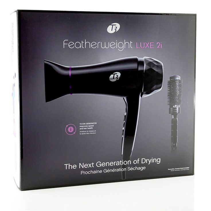 T-3 Featherweight Luxe 2i ION Generator Professional Salon Hair Blow Dryer with Infrared Technology Model 73840 Color: Black Features 2 Speed / 3 Heat Settings Developed with T3 Tourmaline + Ceramic + SoftAire technology, this dryer generates a high volume  Read more http://cosmeticcastle.net/t-3-featherweight-luxe-2i-ion-generator-professional-salon-hair-blow-dryer-with-infrared-technology-model-73840-color-black-features-2-speed-3-heat-settings/  Visit http://cosmeticcastle