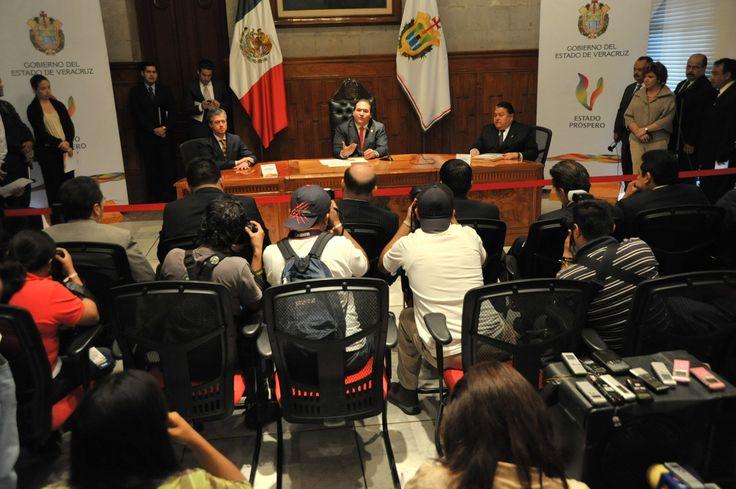 El mandatario estatal informó que el gobierno del estado trabajará en un proyecto hídrico con Odebrecht.