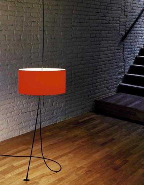 Lámpara Totora Stand - Lámparas de Pie - Iluminación