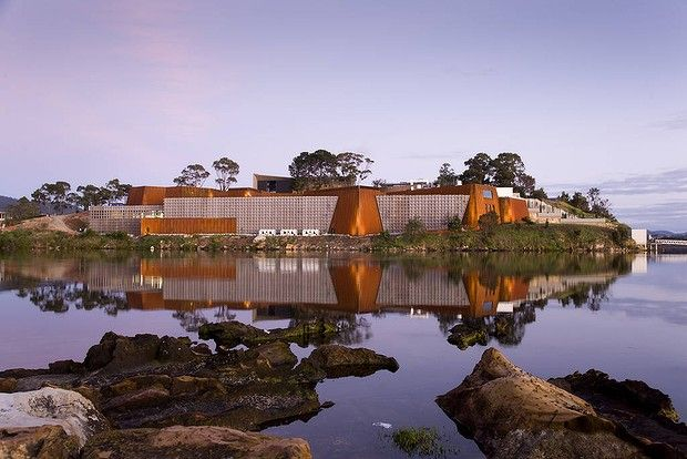 (Museum of Old and New Art (MONA),  Hobart, Tasmania.)