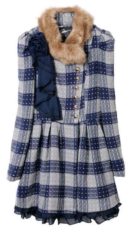 Is this coat really awesome or really ugly? And, why can't I decide…Blue F