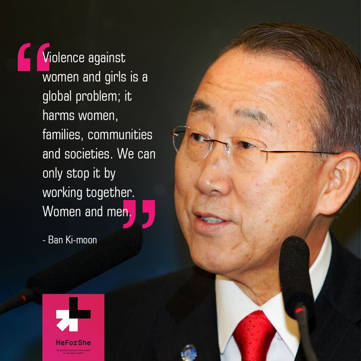 #‎UN‬ Secretary General Ban-Ki-Moon was the first person to make his commitment for HeForShe. Join him and millions of men around the globe who are working toward gender equality: http://bit.ly/1OEBsnH
