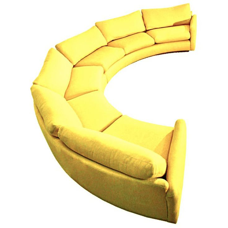 40 best curved sofa images on pinterest couches curved for Semi classic sofa