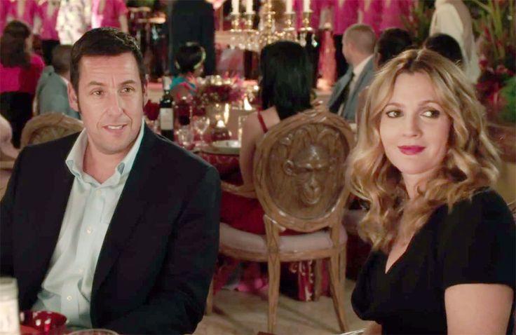 """Drew Barrymore e Adam Sandler juntos novamente no trailer da comédia """"Blended"""""""