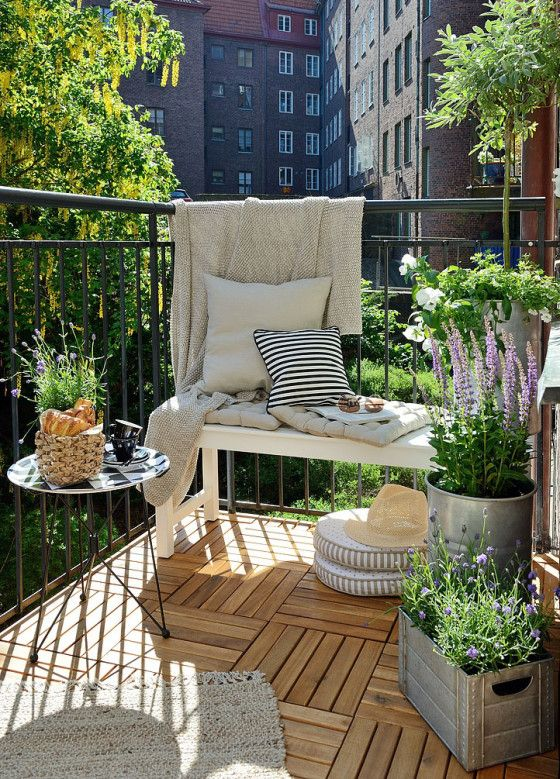 Get the Look – Swedish Balcony | Gardenique