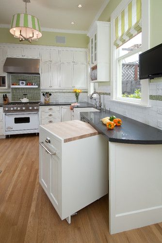 Kitchen Island On Wheels Design, Pictures, Remodel, Decor and Ideas - page 3