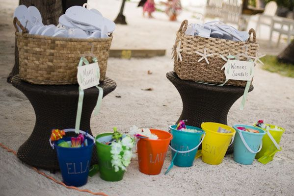 strandbröllop, beach, present till dem små, bröllop, wedding, inspiration