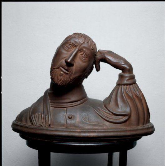 Arturo Martini Il poeta Cechov, 1921-22 Terracotta Dim: 50x80x50 cm Museo d'Arte Contemporanea di Trento e Rovereto
