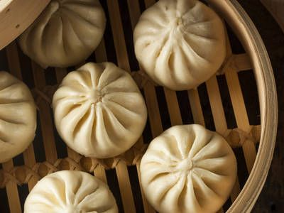 Steamed dumplings filled with ground beef, cabbage, shredded carrot and onion. This is just one of those dishes that you just shouldn't pass up.