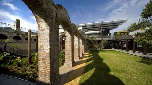 Paddington Reservoir Gardens has beautiful gardens and boardwalks
