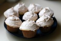 Vegan French Vanilla Cupcakes