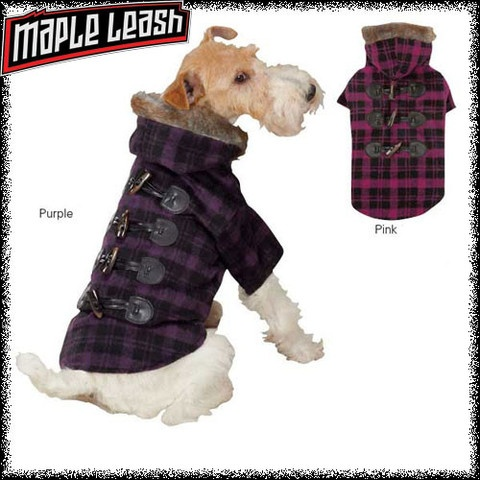 Fur Toggle Coat-our hottest selling coat, now in plaid!