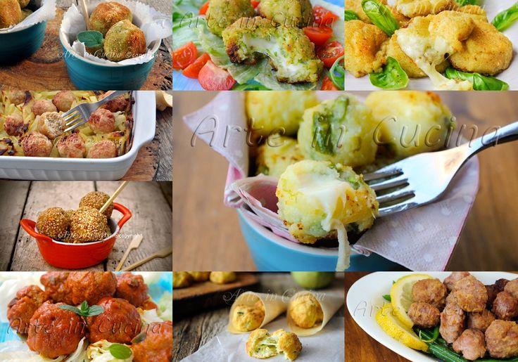 Ricette polpette di carne verdure pesce patate vickyart arte in cucina