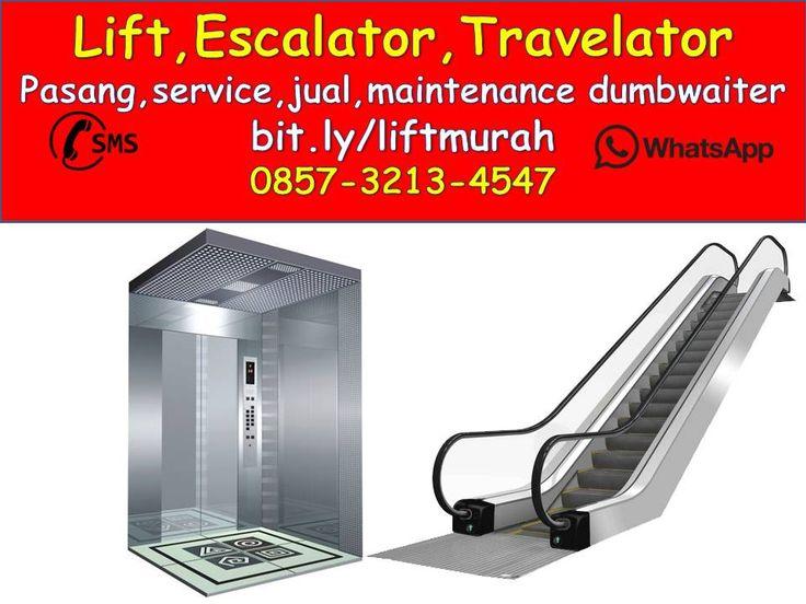 0857-3213-4547 Harga Lift Penumpang Kapasitas 6 Orang