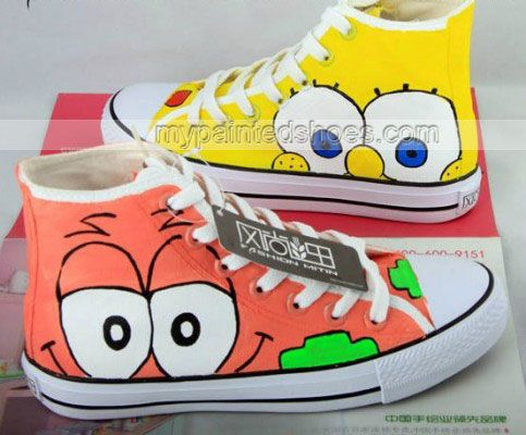 converse shoes song spongebob pictures to draw