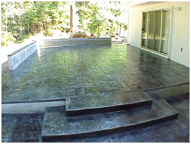 53 best Stained Concrete images on Pinterest | Homes, Concrete ...