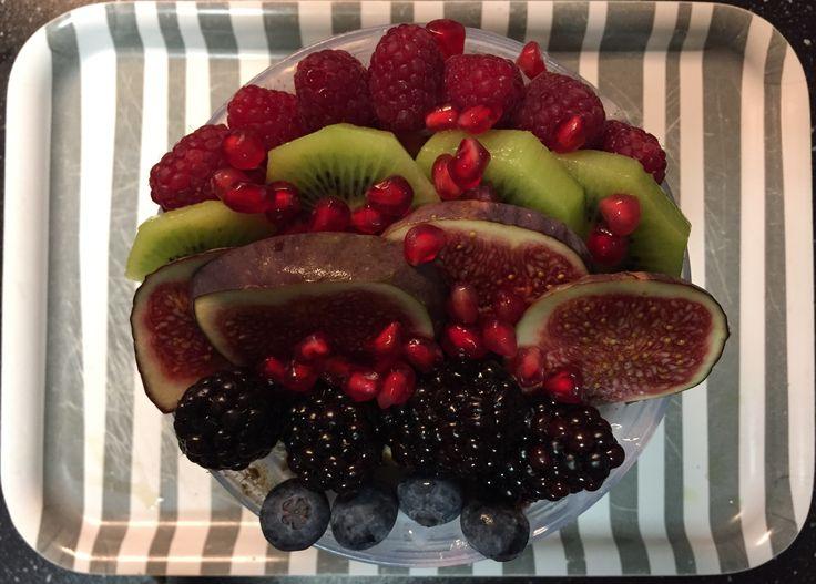 All-bran plus / chai / lijnzaad / pompoenpit / wortel / bietjes / fruit breakfast