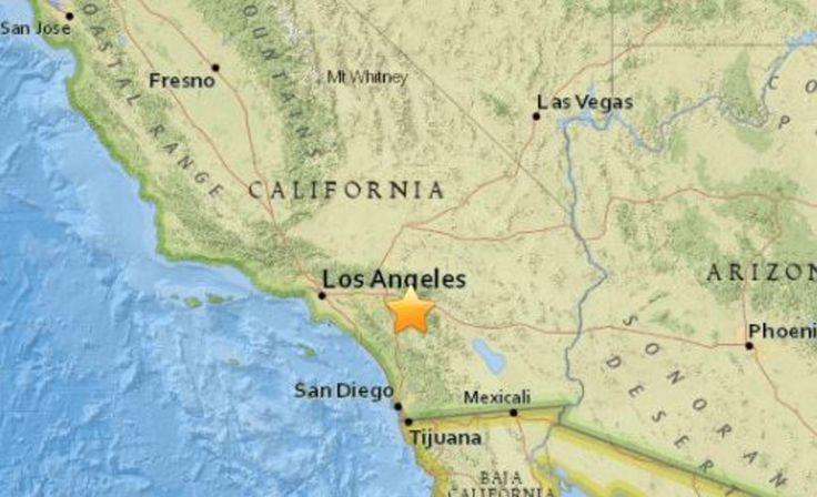 Small earthquake in California