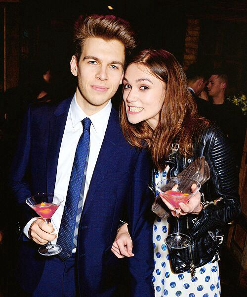 Keira Knightley & James Righton at the Harvey Weinstein's pre-BAFTA dinner on February 14, 2014 in London, England